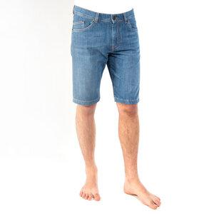 SHORTY LIGHT BLUE Bermuda Shorts aus Jeans in hellblauer Waschung, aus Bio-Baumwolle, fair hergestellt - fairjeans