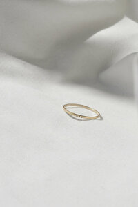 Ring - Dot Band - aus 9 ct Fairtrade Gold - Wild Fawn Jewellery