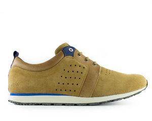 Schuh birch runner / camel wildleder / weiße sohle - ekn footwear