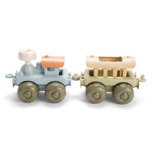 BIO Spielzeug Lok mit Wagen, Geschenkbox - Mitienda Shop