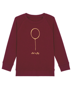 "Kinder Sweatshirt aus Bio-Baumwolle ""Ballon"" - University of Soul"