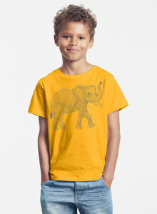 "Bio-Kinder T-Shirt ""Babyelefant"" - Peaces.bio - Neutral® - handbedruckt"