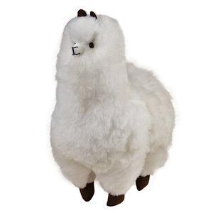 Flauschiges Alpaka Flauschi bestehend aus 100% Baby Alpaka Wolle 33x25cm - AlpacaOne
