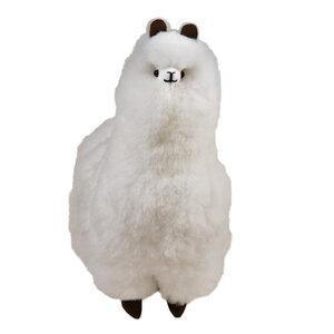 Weicher Alpaka Flocke aus 100% Baby Alpaka Wolle 44x35cm - AlpacaOne