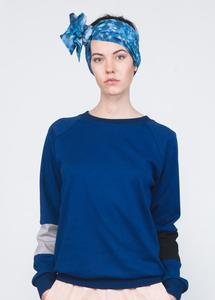 Sleeve Jumper Blue - TRECHES