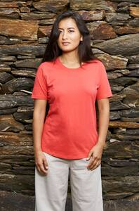 Basic Shirt aus edelster Pima-Baumwolle - KURZARM - Apu Kuntur