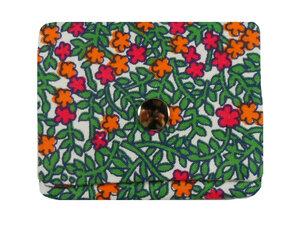 Leesha WILDe Upcycling Tampon Tasche Blühende Wiese - Leesha