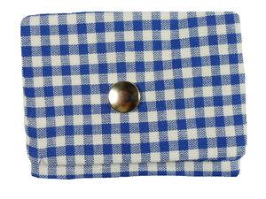 Leesha WILDe Upcycling Tampon Tasche Blaue Tasche - Leesha