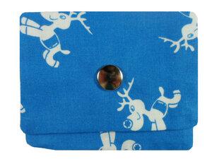 Leesha WILDe Upcycling Tampon Tasche Rentiere - Leesha