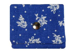 Leesha WILDe Upcycling Tampon Tasche Punktblumen - Leesha