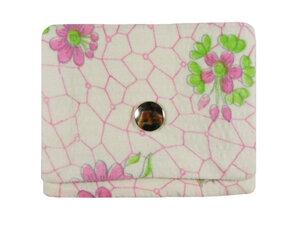 Leesha WILDe Upcycling Tampon Tasche Zarter Frühling - Leesha