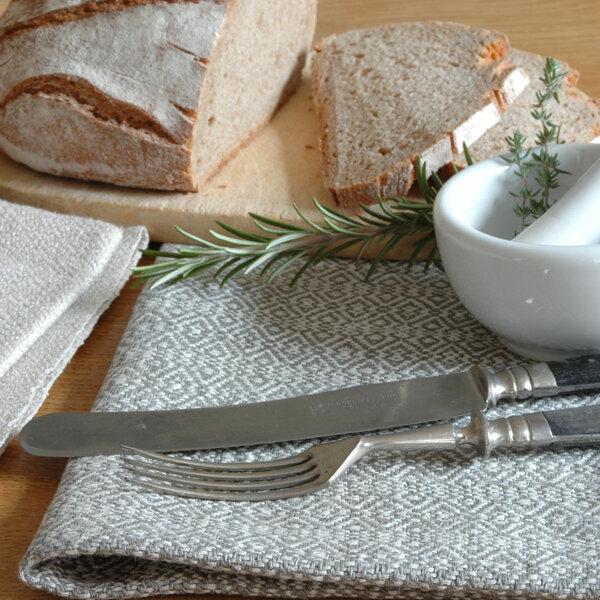 Tuchmacherin handgewebtes design filz leinen for Tischset design