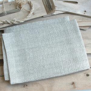 Handgewebtes Leinenhandtuch, Leinenhandtücher von tuchmacherin, olivgrau - tuchmacherin - handgewebtes design + filz