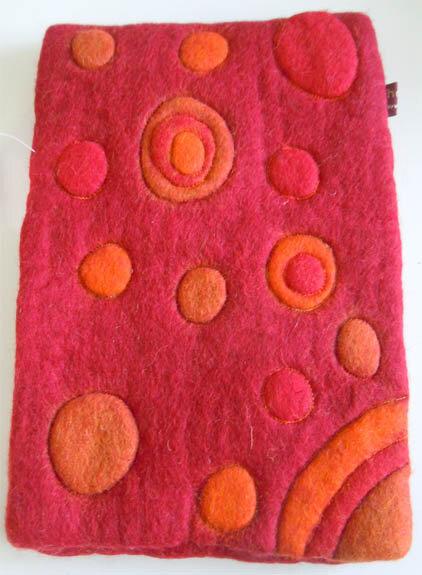 Tablet - Tasche Aus 100% Schafswolle