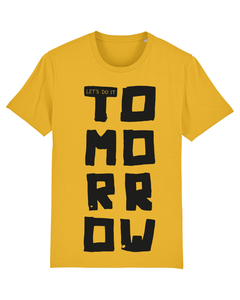 Let's do it tomorrow | T-Shirt Herren - wat? Apparel