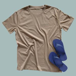 Herren T-Shirt walnut Beach Set - Goganics