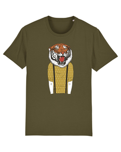 Tiger Head | T-Shirt Herren - wat? Apparel