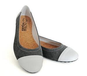 Milena  Ballerina - Noah Italian Vegan Shoes