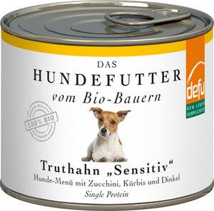 defu Bio Truthahn Sensitiv Hunde-Menü  - defu - dem Leben verpflichtet