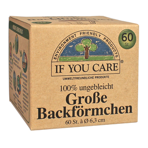 Backförmchen groß - If You Care (IYC)