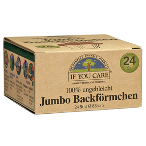 Backförmchen besonders groß - If You Care (IYC)