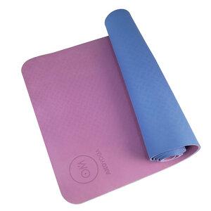 Yogamatte TPE  6 mm rutschfest und recyclebar - AKO Yoga