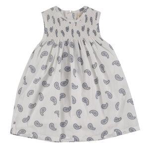 Sommerkleid für Mädchen mit Smok-Passe - Pigeon by Organics for Kids