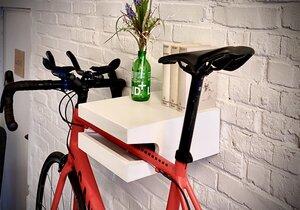 """Fahrrad Wandhalterung """"FRIEDRICH"""" aus nachhaltigem Holz - Bicycledudes"""