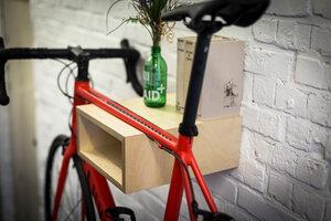 """Fahrrad Wandhalterung """"GUSTAV"""" aus nachhaltigem Holz - Bicycledudes"""