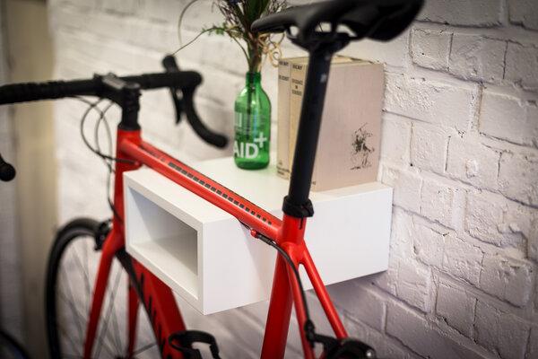 Bicycledudes Fahrrad Wandhalterung OSKAR aus nachhaltigem