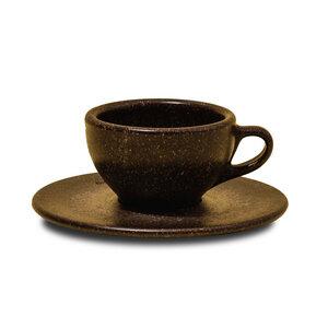 Espresso Tasse mit Unterteller aus Kaffeesatz - Kaffeeform
