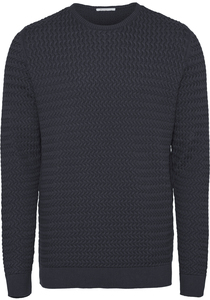 Strickpullover - FIELD o-neck  - GOTS/Vegan - KnowledgeCotton Apparel