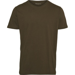 T-Shirt - Basic Regular Fit O-Neck - KnowledgeCotton Apparel