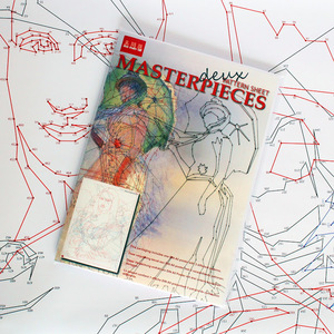 Wanddekoration 'Masterpieces Deux' - Mo man tai