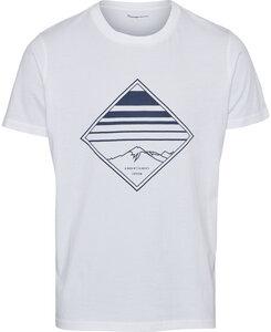 T-Shirt - ALDER o-neck printed - GOTS/Vegan - KnowledgeCotton Apparel