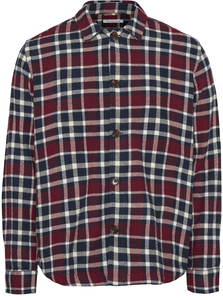 Hemdjacke - PINE checked - KnowledgeCotton Apparel