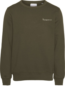 Sweatshirt - ELM knowledgecotton sweat - KnowledgeCotton Apparel