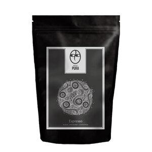Premium Bio Espresso - Harar Longberry Äthiopien - Bohne & Gemahlen - Kaffee Pura