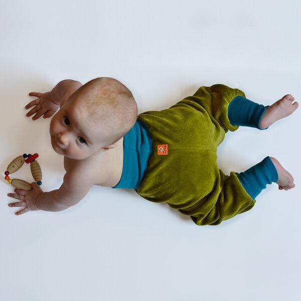 Nickihose Für Babys Grün/petrol
