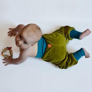 Nickihose für Babys grün/petrol - Cmig