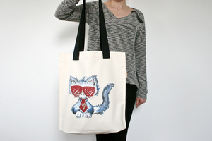 Vegane denkefair-Tasche 'TOO COOL TO ROAR' - denkefair