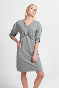 LAILA - Damen Kleid aus Bio-Baumwoll Mix - SHIPSHEIP