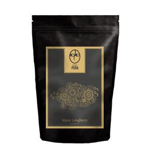 Premium Bio Kaffee - Harar Longberry Äthiopien - Bohne & Gemahlen - Kaffee Pura