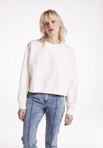 The Cropped Sweater, GOTS, mit Rundhals Ausschnitt - PHYNE