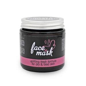 Gesichtsmaske mit Kamillenextrakt, Palmarosa & Rosenholz - Eve Butterfly Soaps