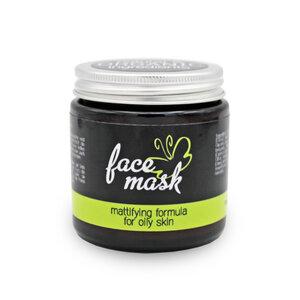 Gesichtsmaske mit Bergamot & grüner Tee-Extrakt - Eve Butterfly Soaps
