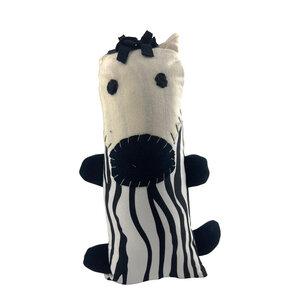 Little Friends - Fair Trade Stofftiere - Zebra - Löwe - Elefant - Affe - Dsenyo