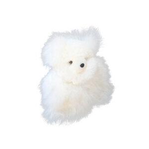 Süßer knuddeliger Teddybär Kuschel aus 100% Baby Alpaka  - AlpacaOne