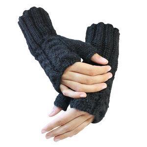 Alpaka Handschuhe Selina fingerlos für Damen aus Alpaka Wolle One Size Größe S-L - AlpacaOne