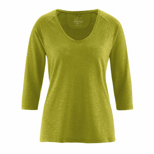 Damen Raglan-Shirt 3/4 Arm - HempAge